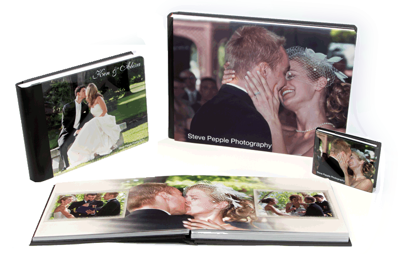 Custom Designed Wedding Albums